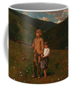 Crossing The Pasture Coffee Mug