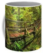Crossing The Rainforest Ravine Coffee Mug