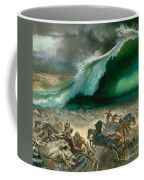 Crossing The Red Sea Coffee Mug by Anonymous