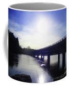 Crossing The Wisconsin River Coffee Mug