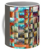 Crossover Abstract Pencil Coffee Mug