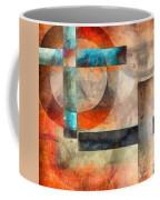 Crossroads Abstract Coffee Mug