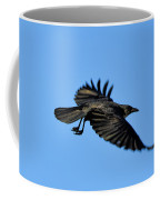 Crow Flyby Coffee Mug