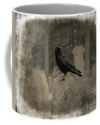 Crow In The Old Graveyard Mix Coffee Mug