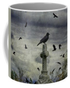 Crow Keeps Her Perch Coffee Mug