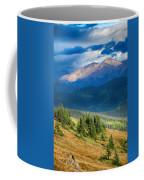 Crow On A Mountainside Coffee Mug