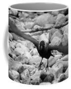 Crow Takes Off Coffee Mug