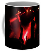 Crowd At A Rock Concert Coffee Mug