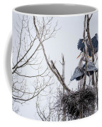 Crowded Nest Coffee Mug