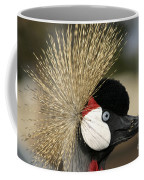 Crown Crane Close Up Coffee Mug
