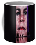 Crown Fountain Silhouettes Coffee Mug