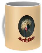 Crowned Crane - Naturally Blonde - Transparent Coffee Mug