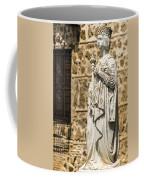 Crowned Statue - Toledo Spain Coffee Mug