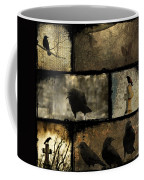 Crows And One Rabbit Coffee Mug