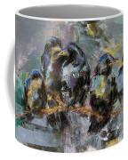Crows In A Row Coffee Mug