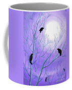 Crows On Empty Branches Coffee Mug