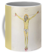 Crucifixion After Velasquez Coffee Mug