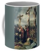 Crucifixion Coffee Mug by Eduard Karl Franz von Gebhardt