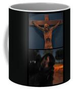 Crucifixion Coffee Mug by James W Johnson