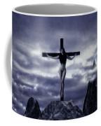 Crucifixion On The Mountain Coffee Mug