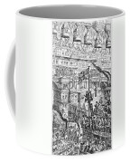 Cruikshank: London, 1851 Coffee Mug