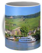 Cruise Boat, Rudesheim, Germany Coffee Mug