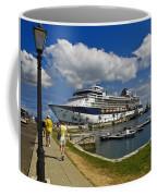 Cruise Ship In Bermuda Coffee Mug