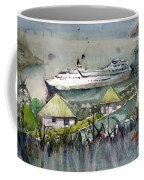 Sitting In The Dock Of The Bay, Kingstown, St Vincent  Coffee Mug