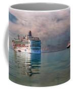 Cruise Ship Parking Coffee Mug