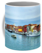 Cruising Into Venice # 2 Coffee Mug by Mel Steinhauer