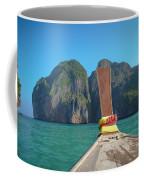 Cruising Maya Bay Coffee Mug