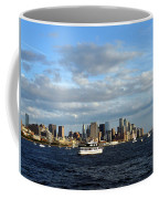Cruising On The Hudson Coffee Mug