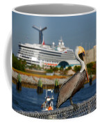 Cruising Pelican Coffee Mug