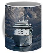 Cruising The Adriatic Sea Coffee Mug