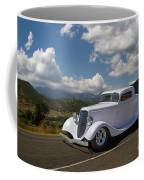 Cruizing Model A Ford Hot Rod Coffee Mug
