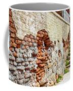 Crumbling Wall Coffee Mug