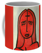 Crying Girl Coffee Mug