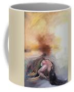 Crying Woman Coffee Mug