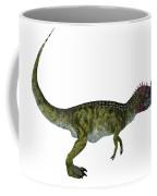 Cryolophosaurus Side Profile Coffee Mug
