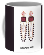 Crystal Earrings For Women Coffee Mug