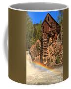 Crystal Mill Rainbow Coffee Mug