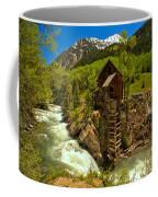 Crystal Mill Summer Landscape Coffee Mug