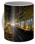 Cta Meet At The State-lake Street Station Chicago Illinois Coffee Mug