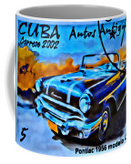 Cuba Antique Auto 1956 Catalina Coffee Mug