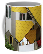 Cube Houses Detail In Rotterdam Coffee Mug