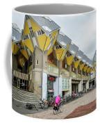 Cube Houses In Rotterdam Coffee Mug