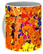 Cubist Tesseract Coffee Mug