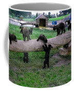Cubs At The Playground Coffee Mug