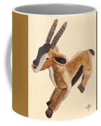 Cuddly Gazelle Watercolor Coffee Mug