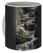 Cullasaja Falls In Autumn Close Up Coffee Mug